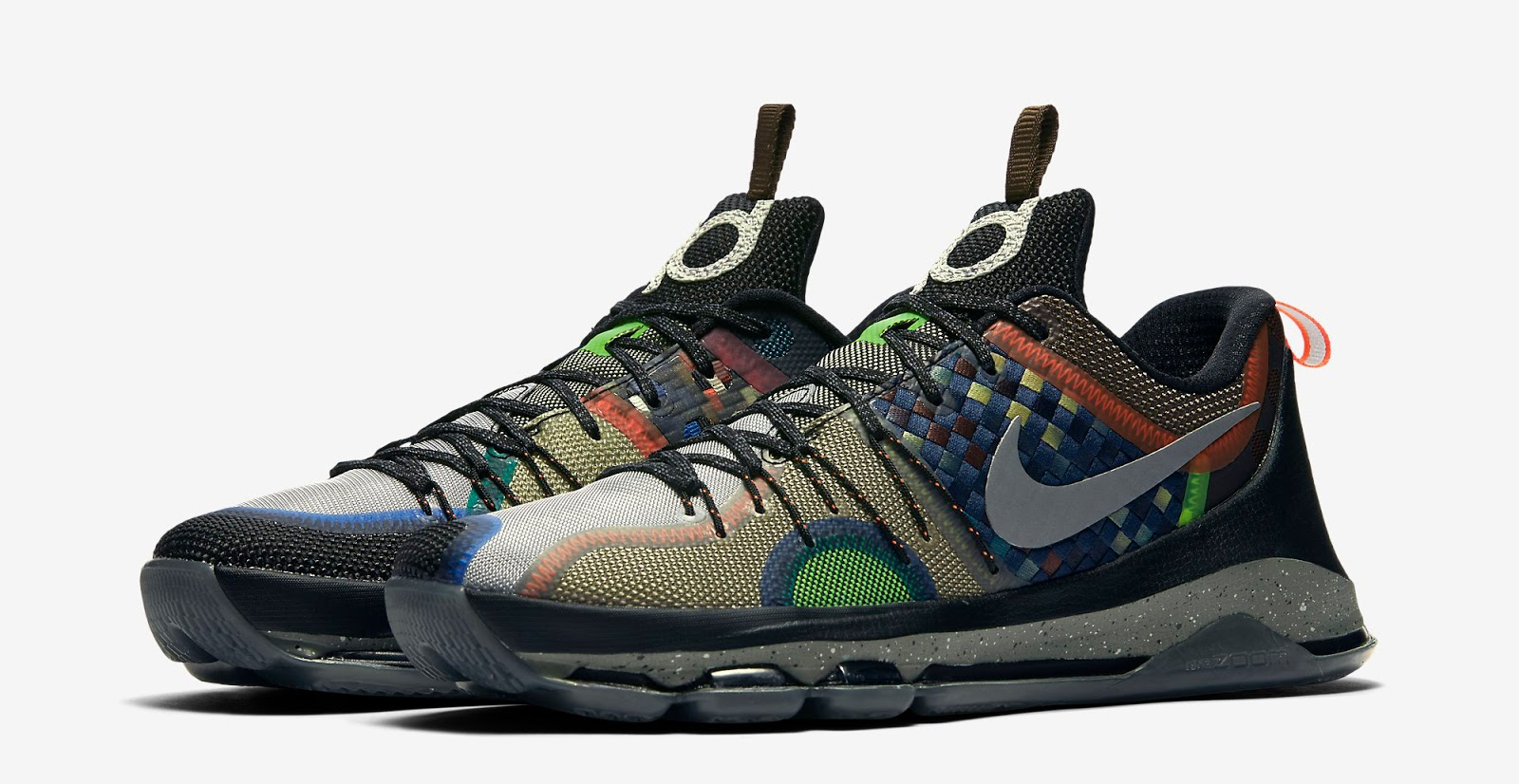 56b63db5052 Multi-Color Multi-Color Release Reminder. The latest colorway of the Nike KD  8 is set to hit stores this weekend.
