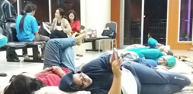 """Di Mutasi Gara-Gara Lapor Ada Pungli, Staf Puskesmas Tak Terima dan Nginap di Kantor DPRD Medan, Sutrisno Pangaribuan:  """"SK Mutasi dari Kadis Kesehatan Mandul"""""""