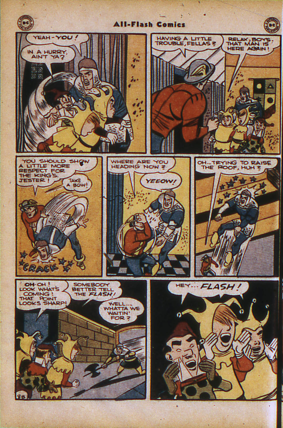 Read online All-Flash comic -  Issue #24 - 24