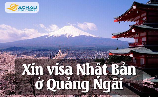 Xin visa Nhật Bản ở Quảng Ngãi