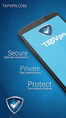 تحميل تطبيق لفتح المواقع المحجوبة TapVPN Free VPN