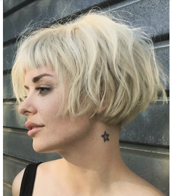 short bob hairstyles for thin hair 2019