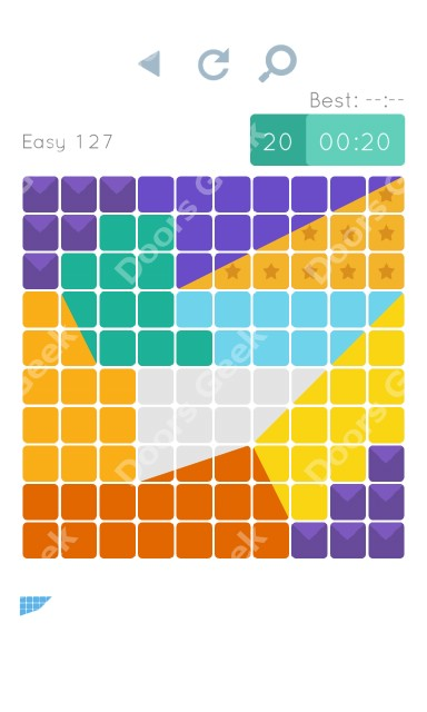 Cheats, Walkthrough for Blocks and Shapes Level 127