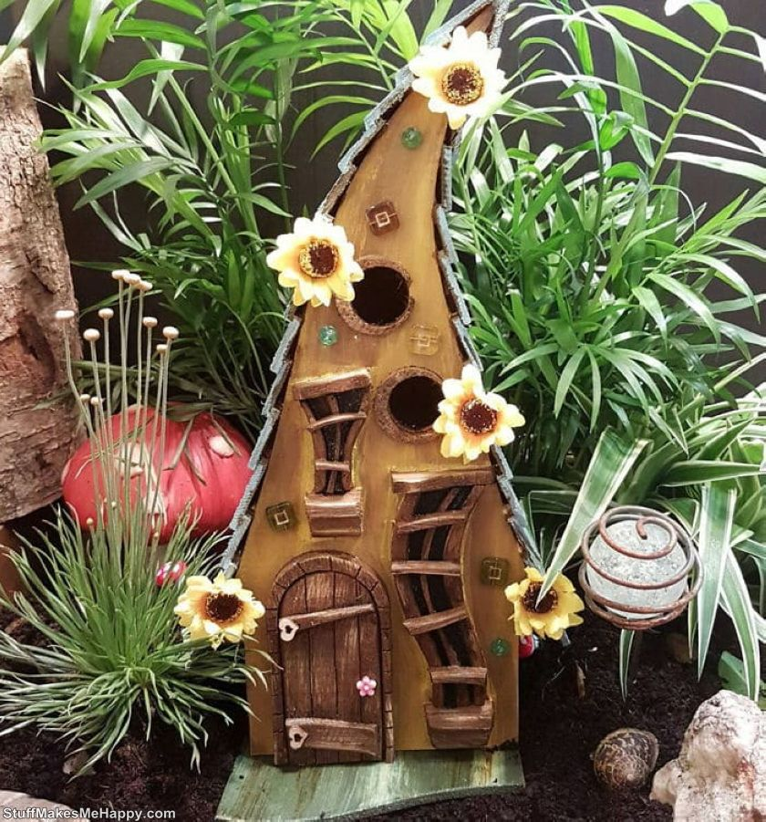 11. Fairy houses for birds  by Jay from Little Lodging