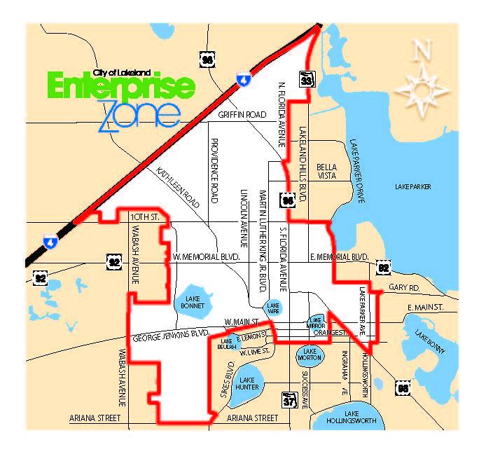 Lakeland Enterprise Zone Industrial Property On Triangle