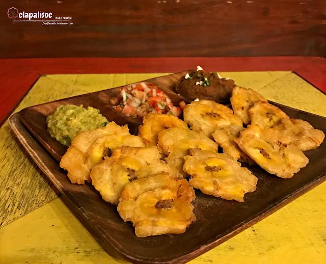 Patacones from Pura Vida Poblacion