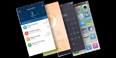 Mobile App Design Mockup
