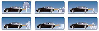 beep&park®/visionTM con su doble sistema de ayuda asegura las maniobras de aparcamiento simplificándolas al máximo.