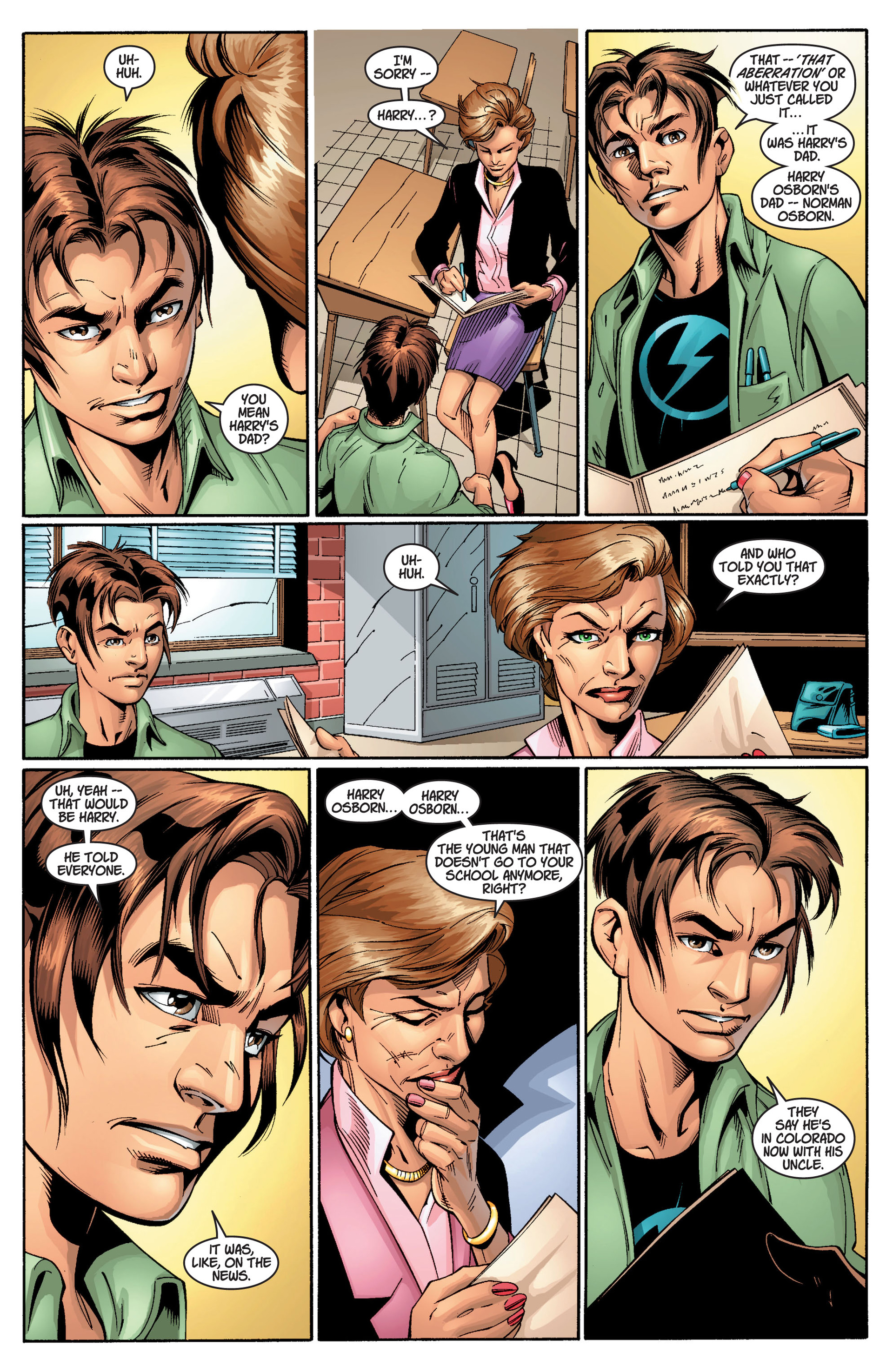 Read online Ultimate Spider-Man (2000) comic -  Issue #11 - 4
