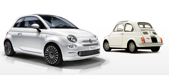 Cinquant'anni fa bastavano 475 mila lire (4.700 euro di oggi) per comprarsi una Fiat 500