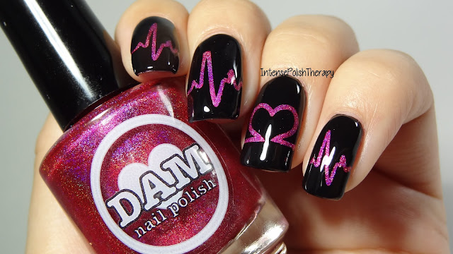 Heartbeat Valentine's Day Manicure
