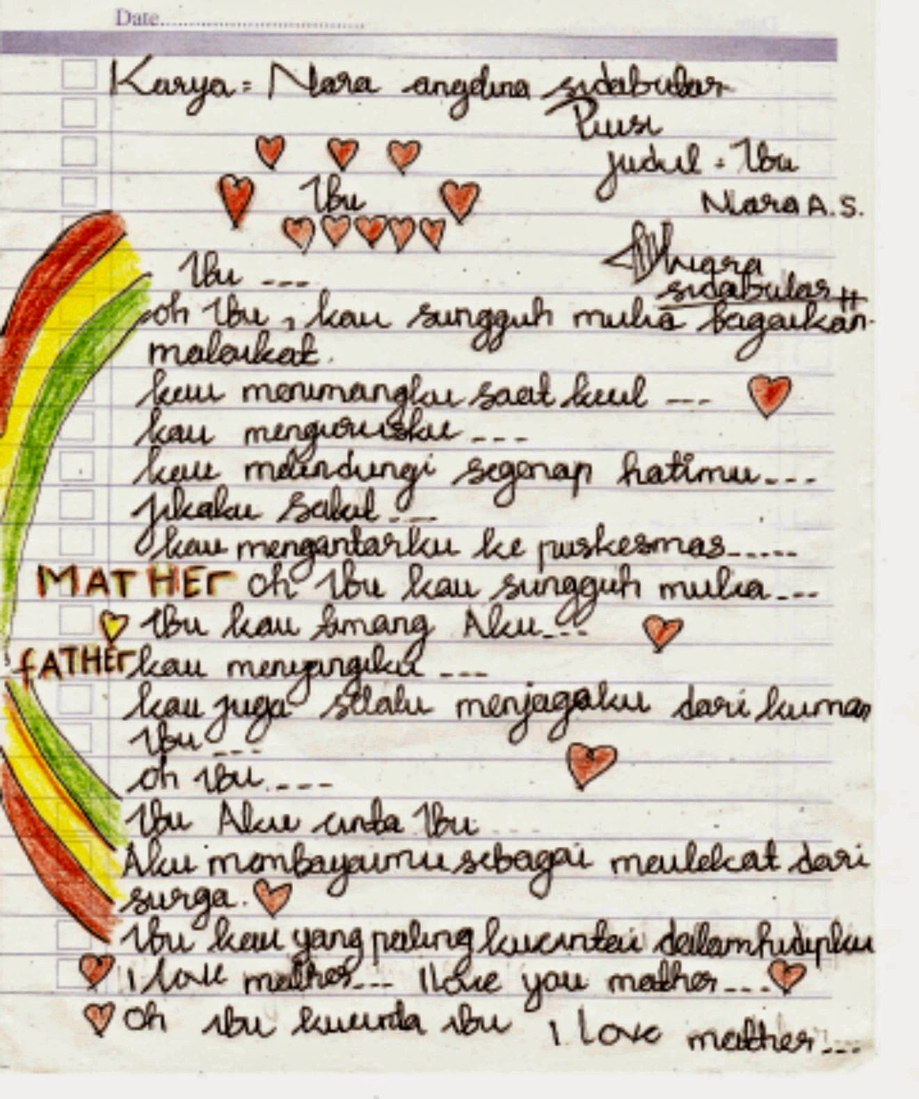 Lampiran Puisi Cabang Lomba Fls2n Th 2015 Sma Negeri 2 Kotaagung