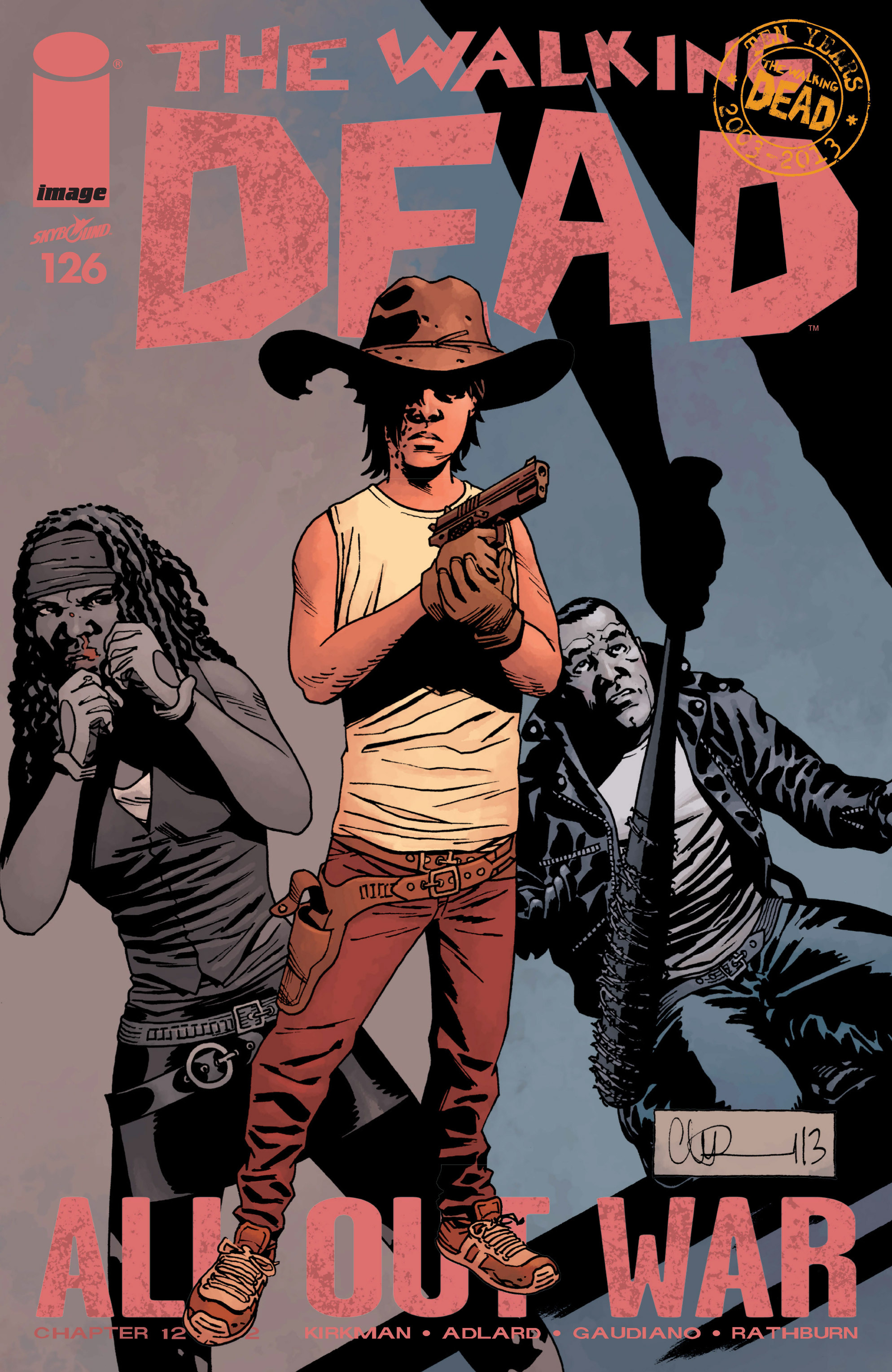 The Walking Dead 126 Page 1