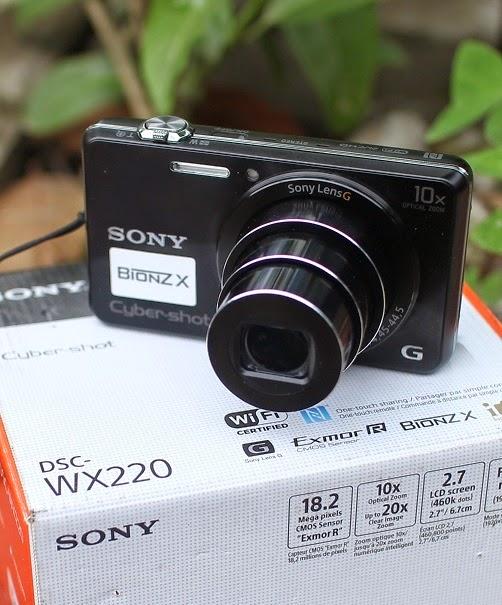 harga Jual Sony DSC WX220 Kamera Digital Bekas