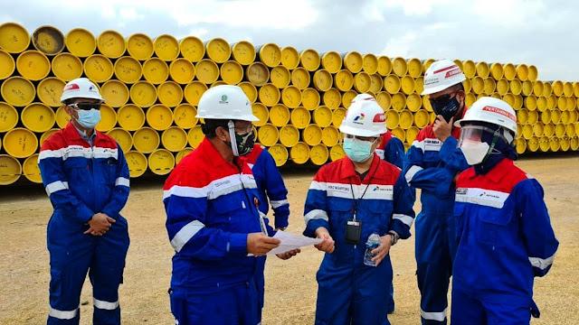 Perusahaan Gas Negara (PGN) Komitmen Selesaikan Proyek Pipa Minyak Blok Rokan.lelemuku.com.jpg