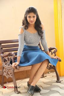 Telugu Actress Roshini Prakash Stills Short Dress at Saptagiri Express Release Press Meet  0186.JPG
