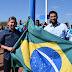 Prefeito Tulio Lemos, o vice Rodrigo Aladim participam da solenidade de abertura da semana da Pátria