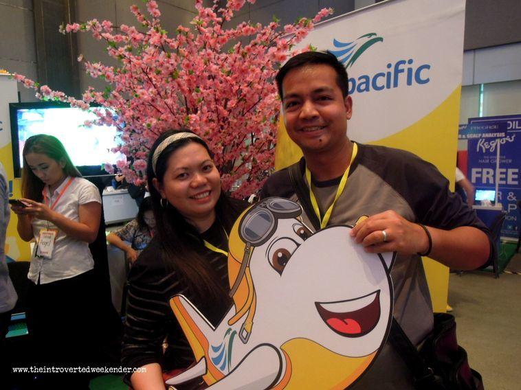 Cebu Pacific booth at Blogapalooza
