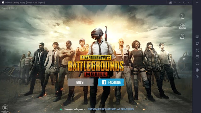 Cara memainkan PUBG Mobile di PC