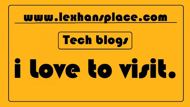 Techblogs for lexhansplace