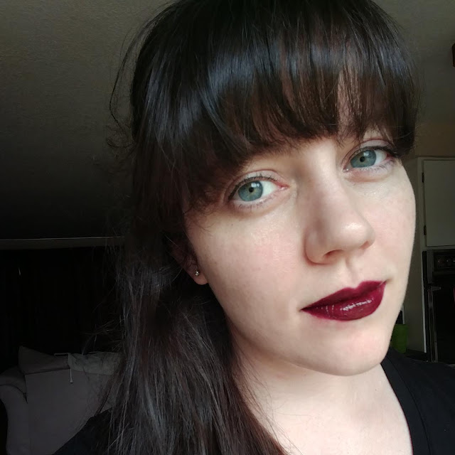 long lasting lipstick wear test