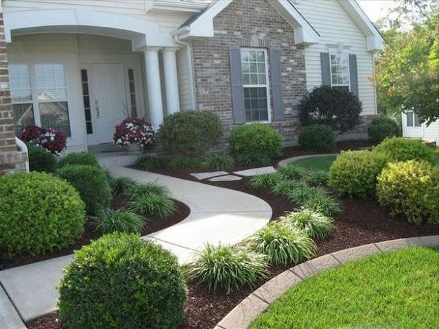 أفكار ديكور بسيطة لحديقة منزل رائعة