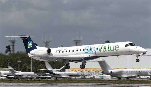 erj-145lr skyvalue airways