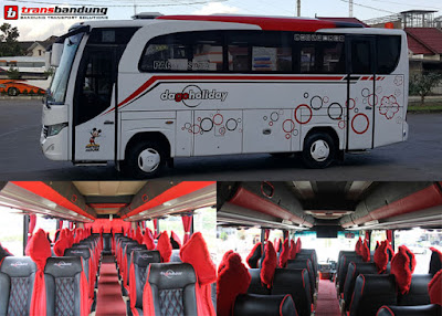 Bus Medium 31 Seat Trans Bandung - Dago Holiday