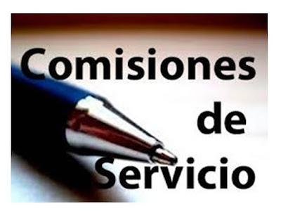 Comisiones de Servicio para docentes en Ceuta, Curso 2019-2020, Enseñanza UGT Ceuta, blog de Enseñanza UGT Ceuta