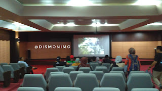 Suasana mini studio di Museum Gunung Merapi