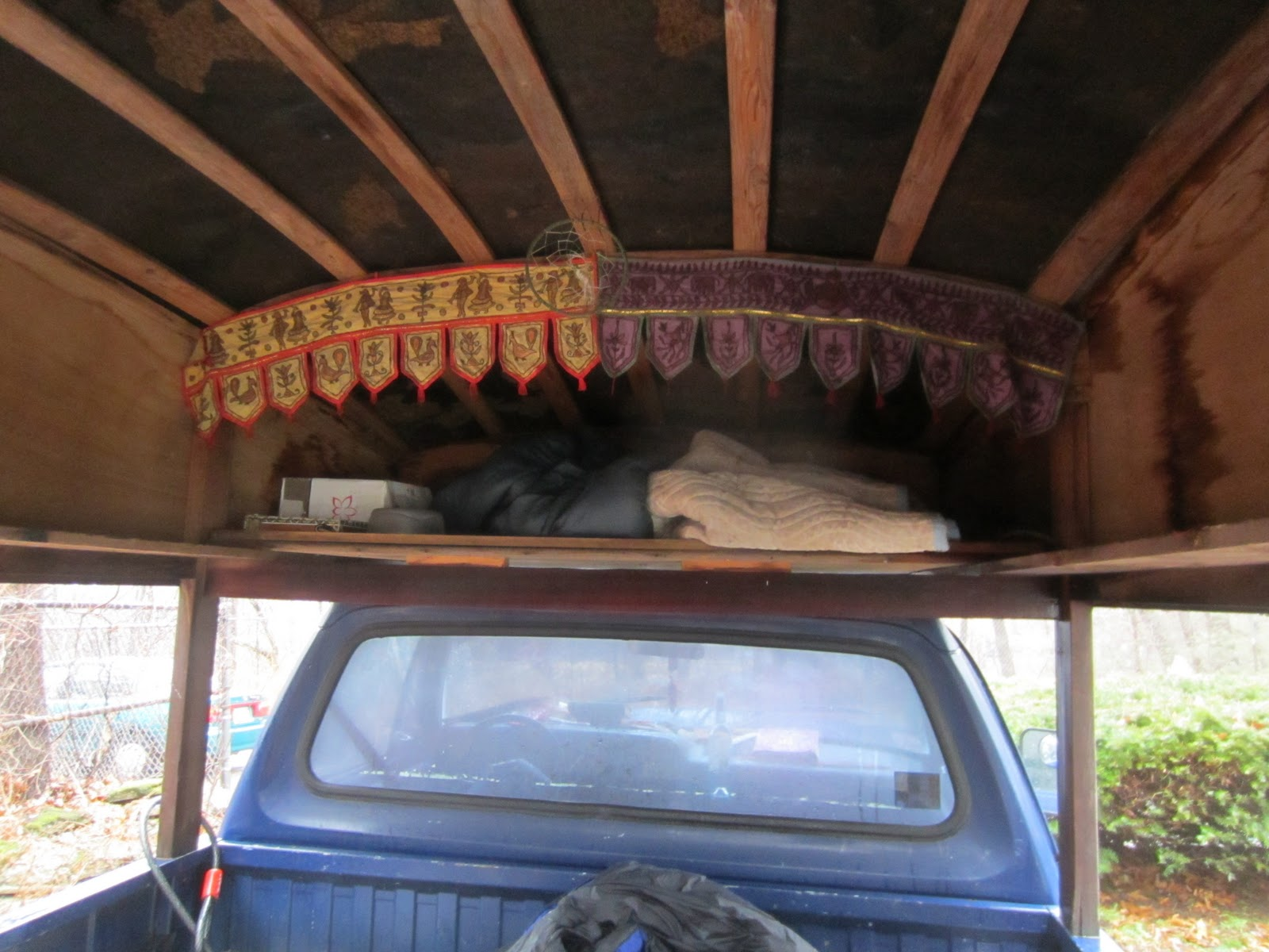 Relaxshacks Com Sage Radachowsky S Turtle Domed Camping