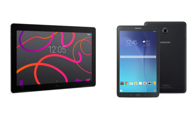 [Comparativa] BQ Aquaris M10 HD VS Samsung Galaxy Tab E 9.6