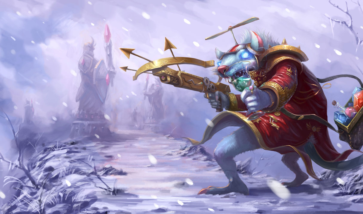 Twitchs New Splash Arts Show Off His Stinky Mischievous Side The