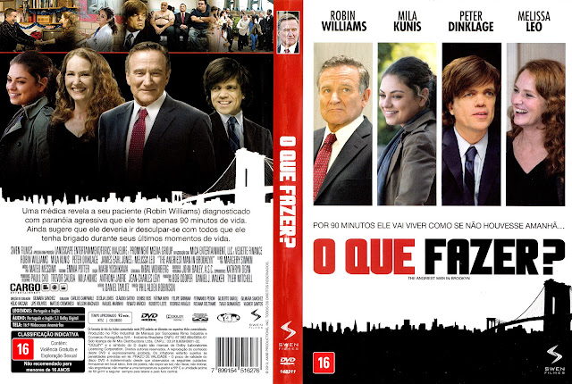 Capa DVD O Que Fazer? (Oficial)