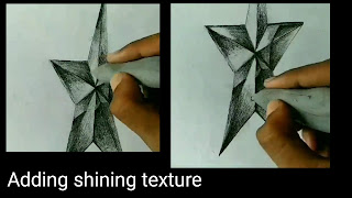 Here step by step tutorials for to draw the star, learn to draw star, 3d drawing star , easy to draw star, begginers drawing, step by step tutorials for to draw star