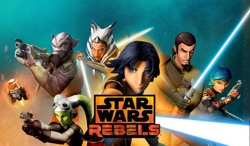 Cortos de Star Wars Rebels.