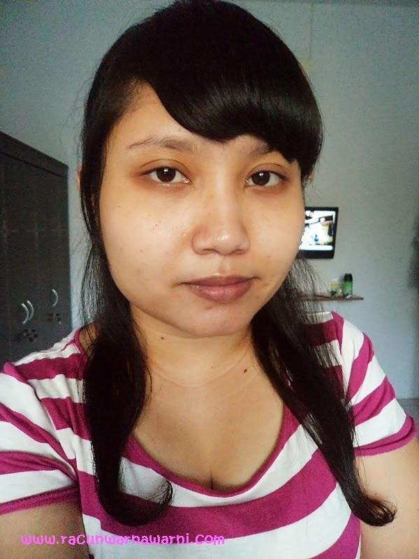 Bare Face Sebelum Pemakaian Produk