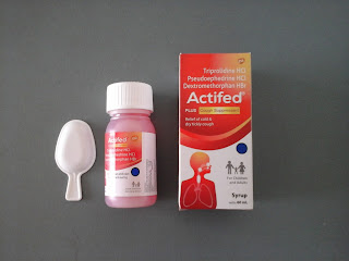 Actifed Plus Cough Suppressant (Merah)