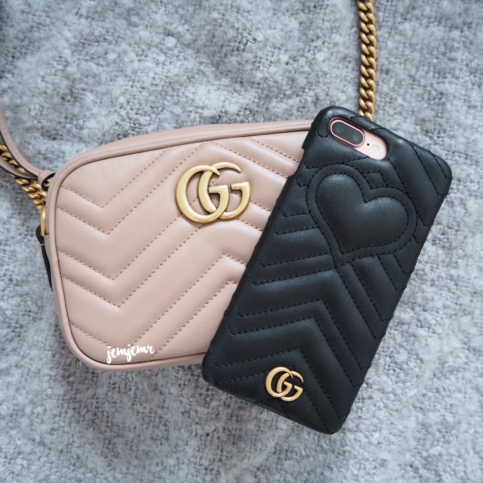 54558f080fc922 Gucci Mini Marmont Matelasse Bag | JemJemR Loves