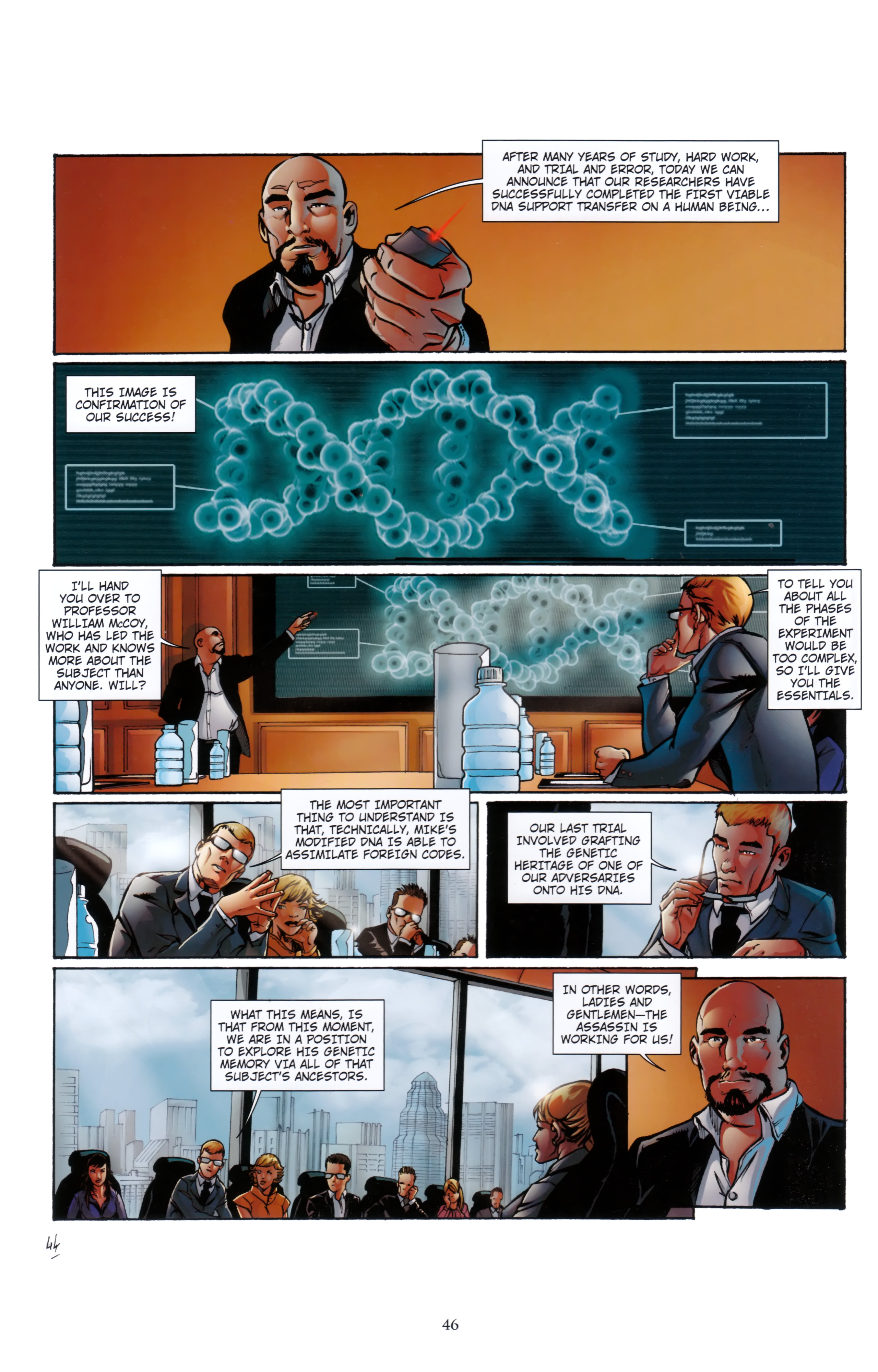 Read online Assassin's Creed (2012) comic -  Issue #5 - 46