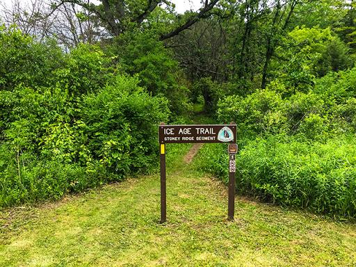 springs along the Ice Age Trail Stony Ridge Segment