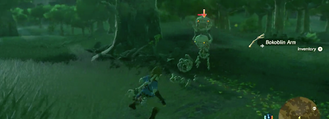 Descubre algunas armas de Zelda: Breath of the Wild