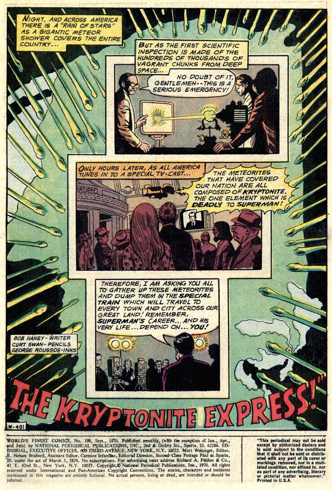 Read online World's Finest Comics comic -  Issue #196 - 3