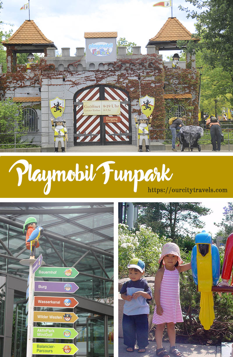Just as Lego has Legoland, #Playmobil has its #Funpark. The massive playground in #Zirndorf, #Germany covers about 90,000 square meters, there's really a lot to do in it. #PlaymobilFunpark