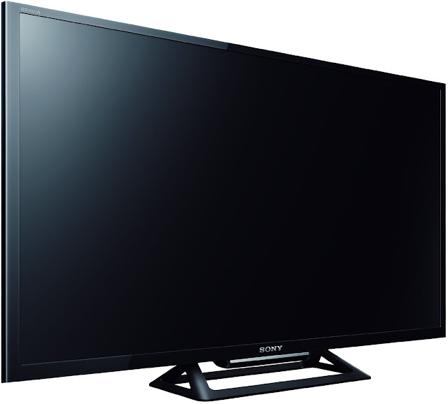 Sony BRAVIA KLV-32R412C 80 cm (32 inches) HD Ready LED TV Side view without playing