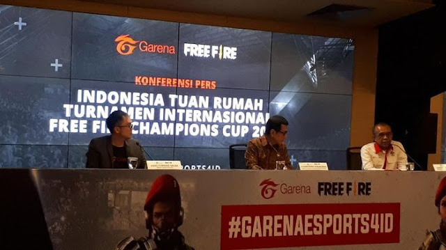 Indonesia Tuan Rumah Free Fire Champions Cup 2020