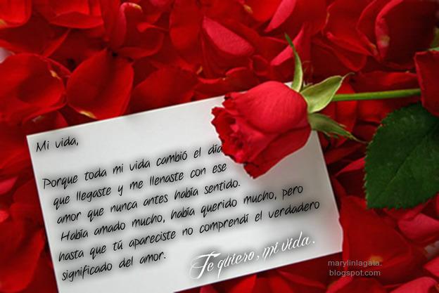 Cartas de Amor, Te Quiero, Sentimientos del alma, Mensajes de Agradecimiento, Cariño, Alegría, sonrisas,