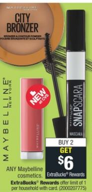 Maybelline cvs freebies 5-12-5-18
