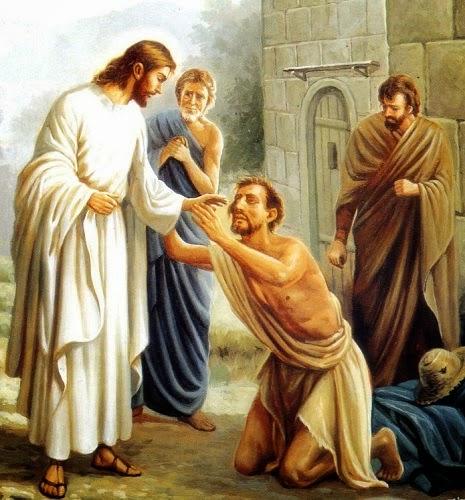 Resultado de imagen de Jesús cura al leproso