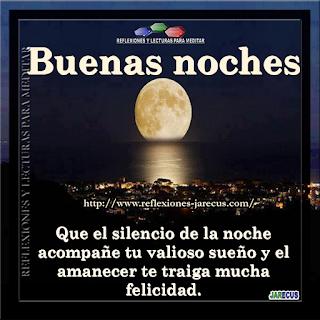 Frases bonitas de Buenas Noches para desear una feliz noche